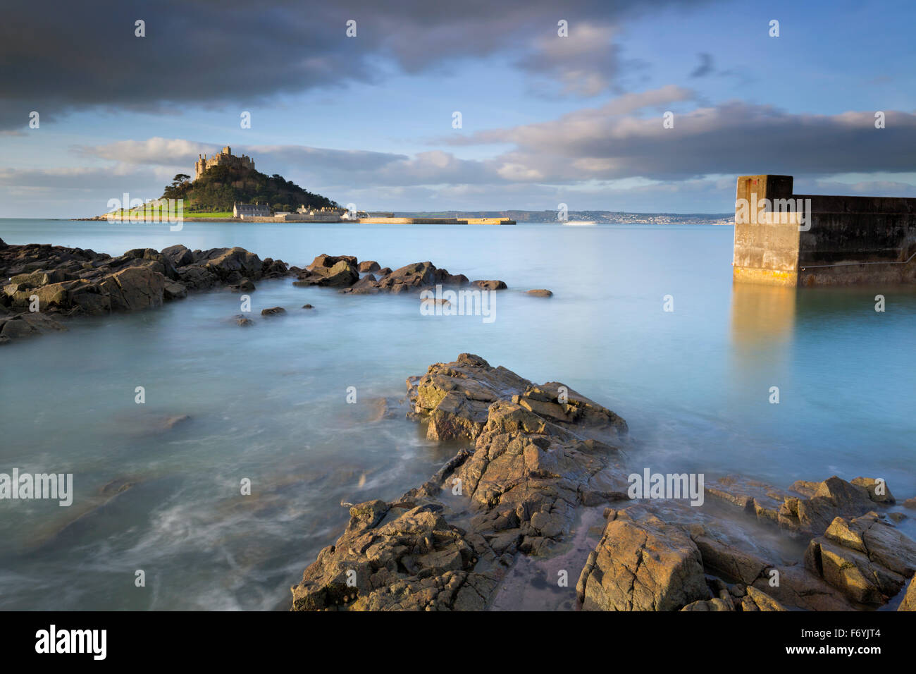 St Michael's Mount ; Royaume-Uni ; Cornwall Marazion Photo Stock