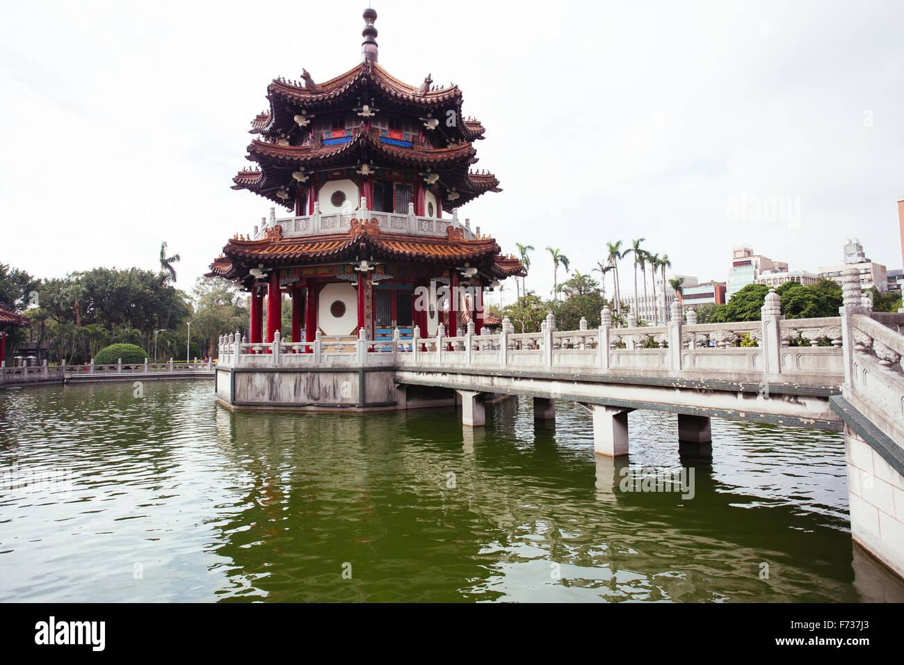 Pavillon de Taipei Taiwan parc Photo Stock
