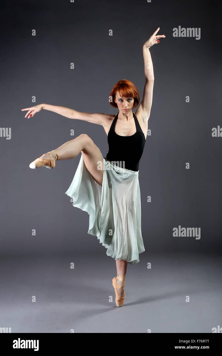 Ballerine effectuant Photo Stock