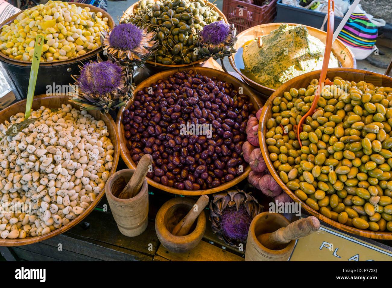 Deli Food, Marché, Lourmarin , Provence, Photo Stock