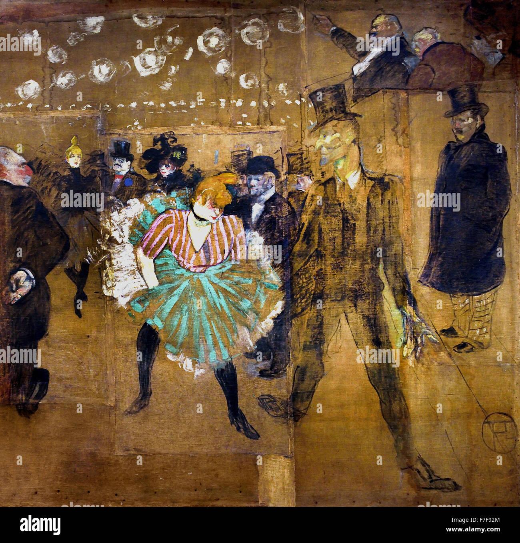 Panneaux pour la maison de la goulue la foire du trone in paris 1895 henri de toulouse lautrec - La maison du placard toulouse ...