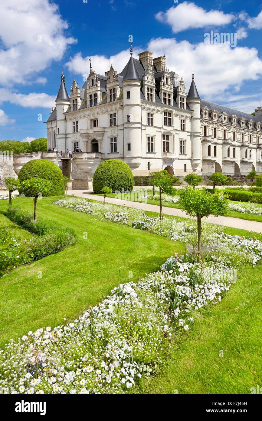Château de Chenonceau, Chenonceau, Loire, France Photo Stock