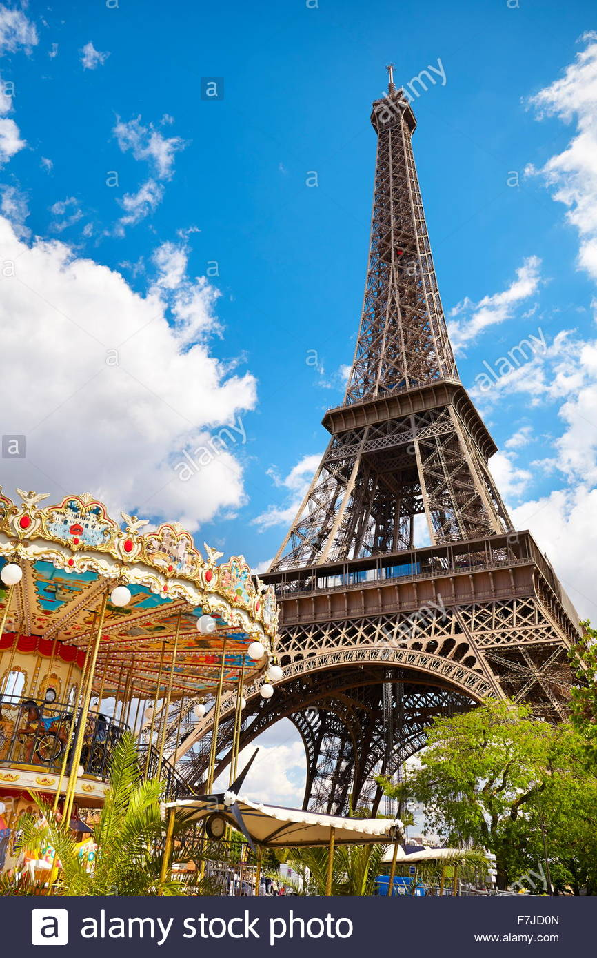 La Tour Eiffel, Paris, France Photo Stock