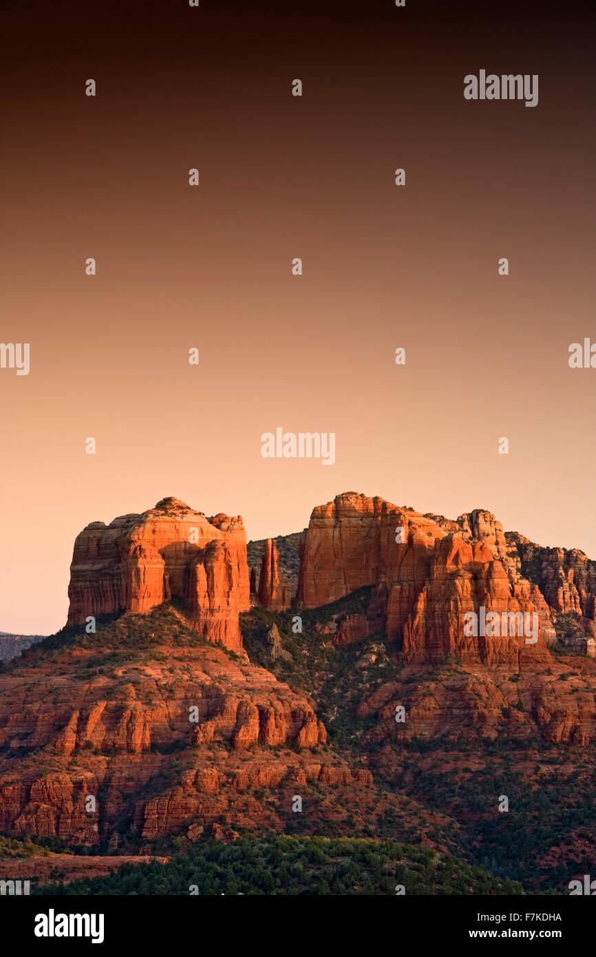 Cathedral rock, Sedona, Arizona usa Photo Stock