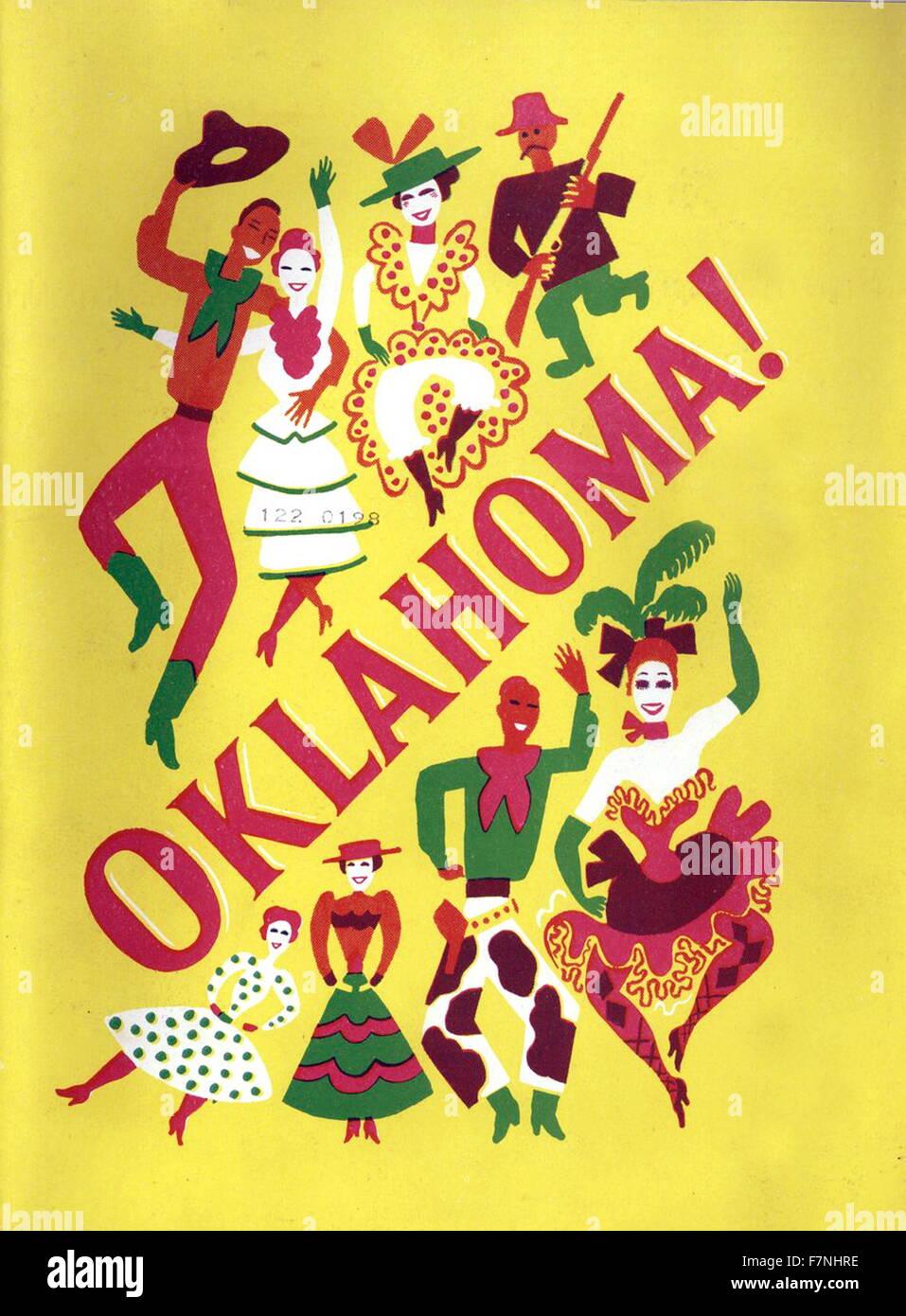 Affiche publicitaire de la jouer 'California'. Datée 1948 Banque D'Images