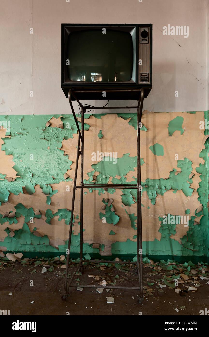 L'Italie. Mur de déroulage Photo Stock