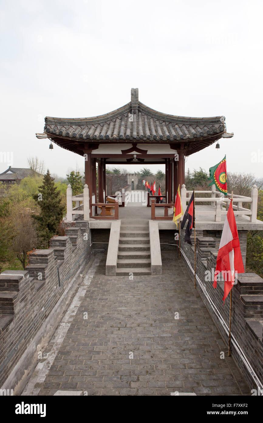 Site historique de Choe Chi-won Photo Stock