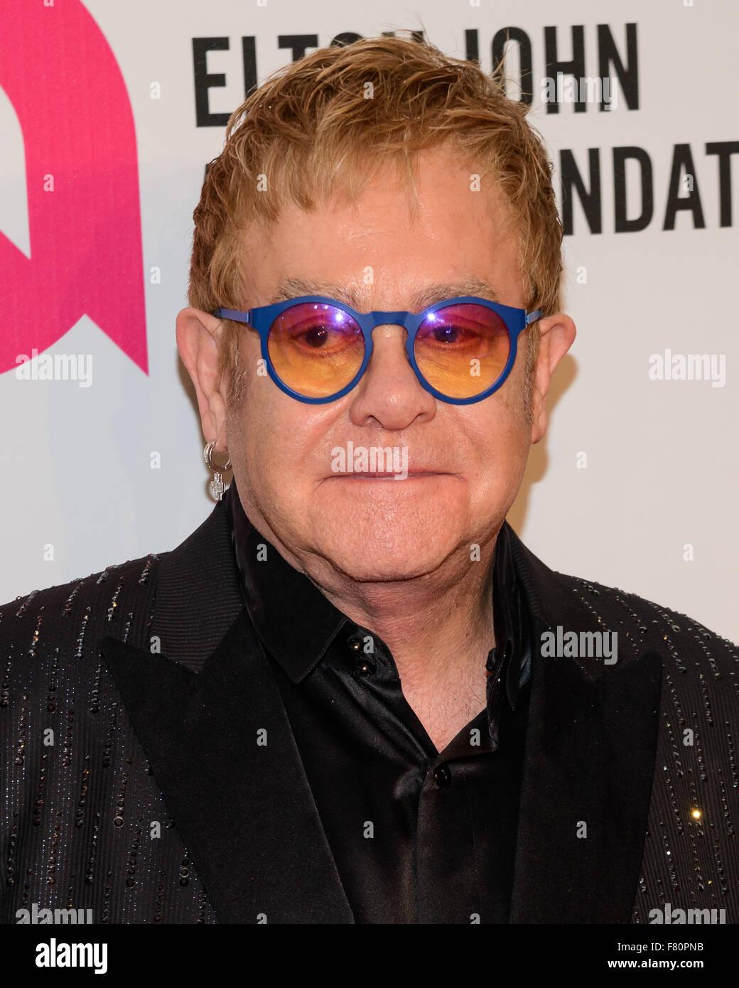 14Th Annual Elton John AIDS Foundation Une vision durable sur la prestation au Cipriani Wall St. avec Elton John: Banque D'Images
