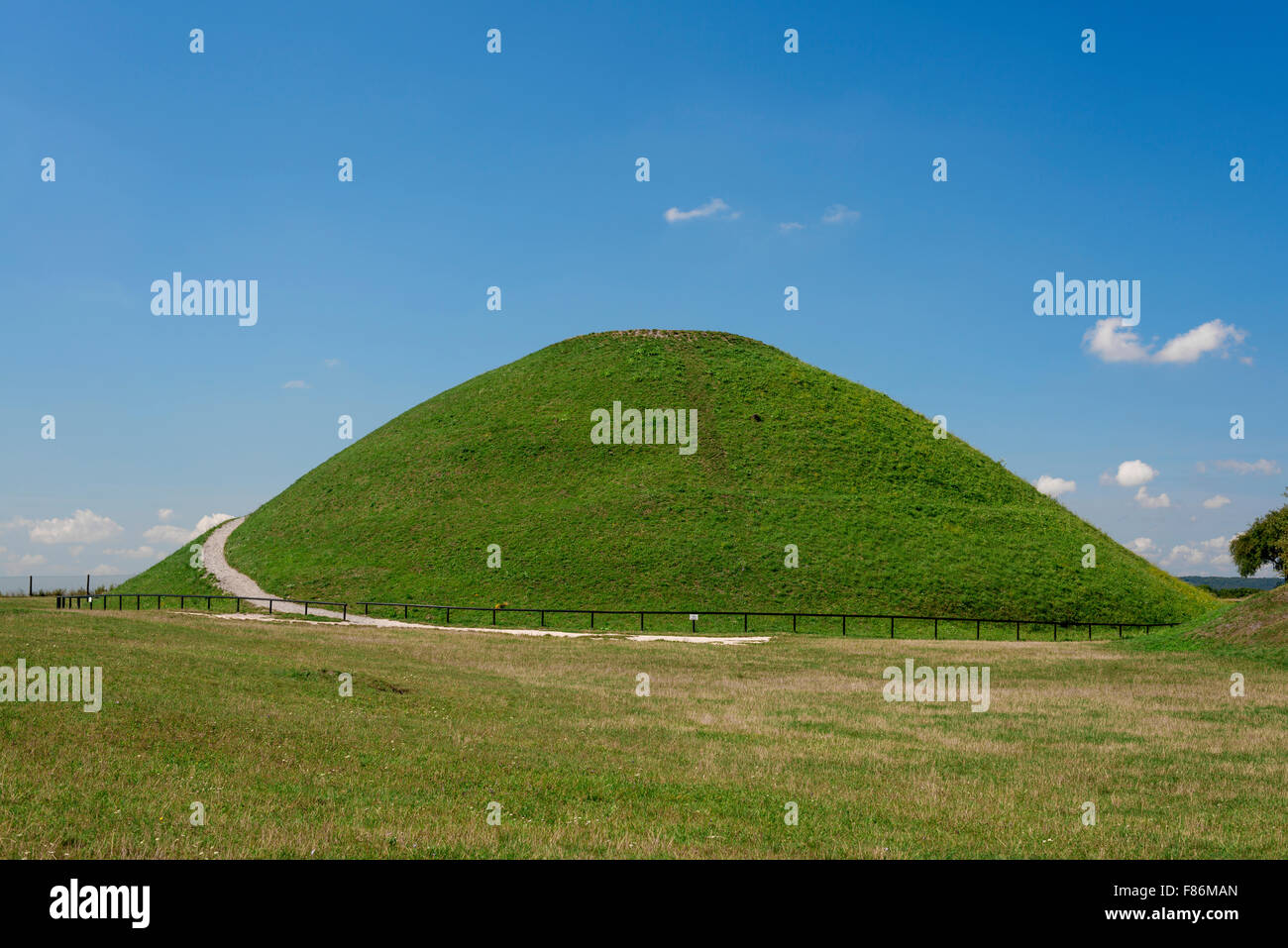 Pologne Cracovie. Krakus Mound Photo Stock