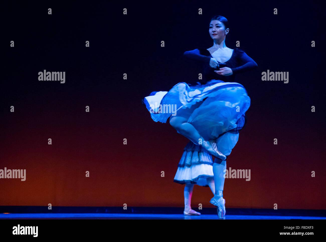 Yuhui Choe dans Carlos Acosta est une sélection classique: 8 décembre 2015, London Coliseum, Londres, Photo Stock