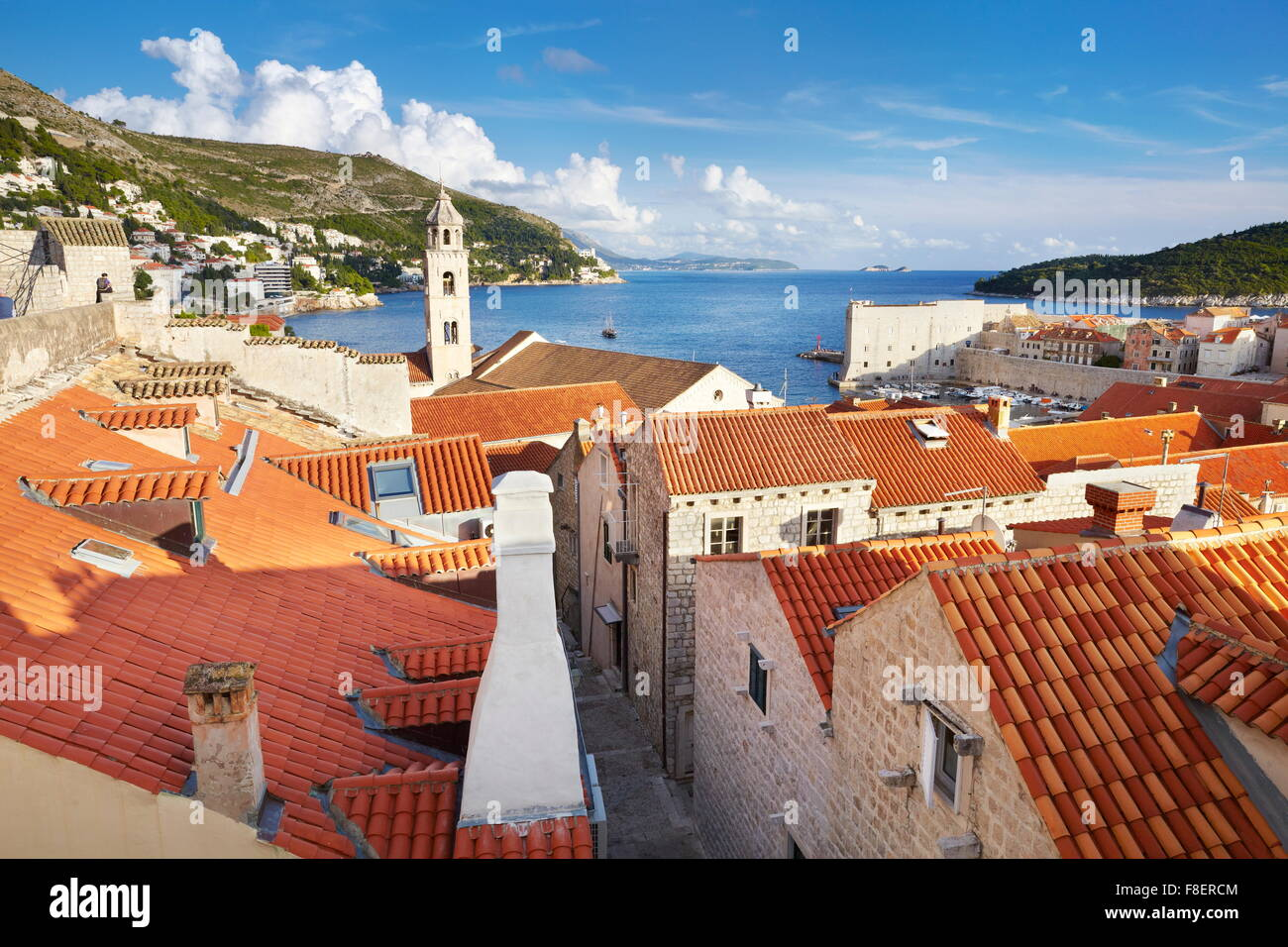 La vieille ville de Dubrovnik, Croatie Photo Stock