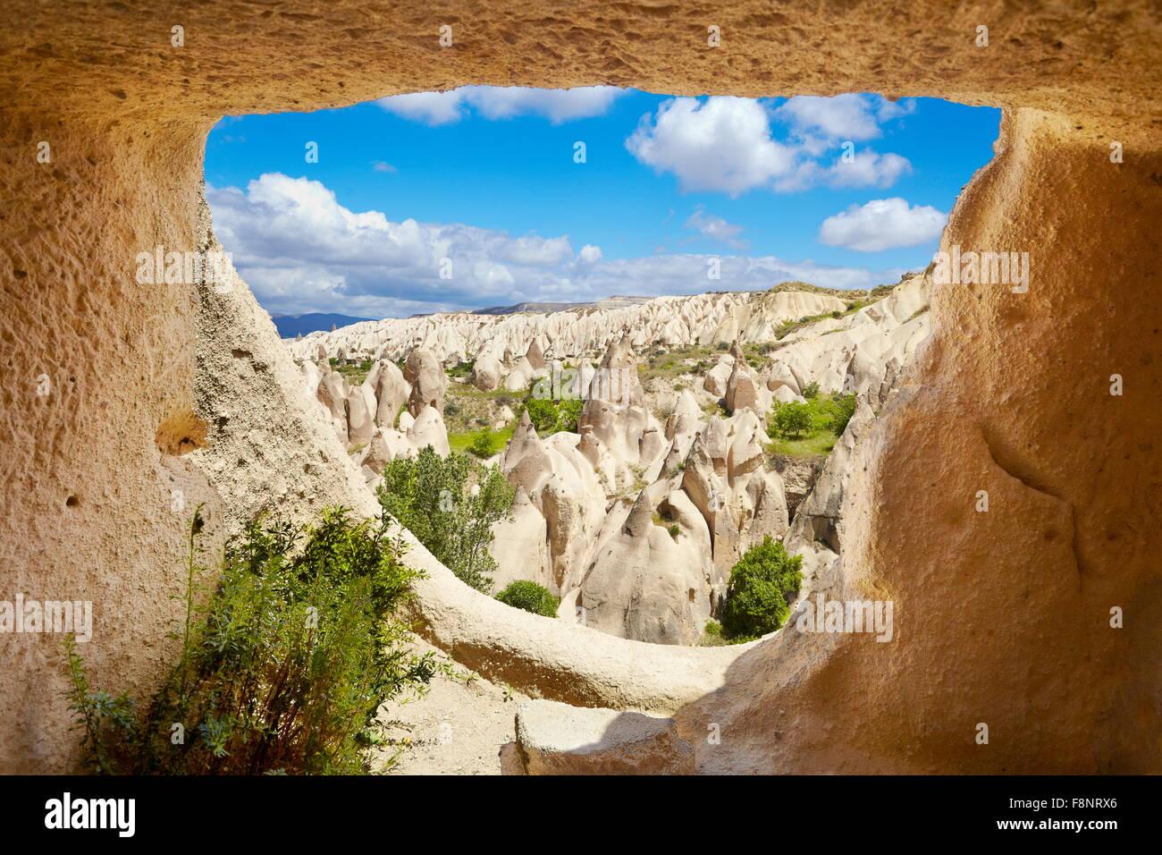 La Cappadoce - Parc national de Göreme, Turquie, l'UNESCO Photo Stock