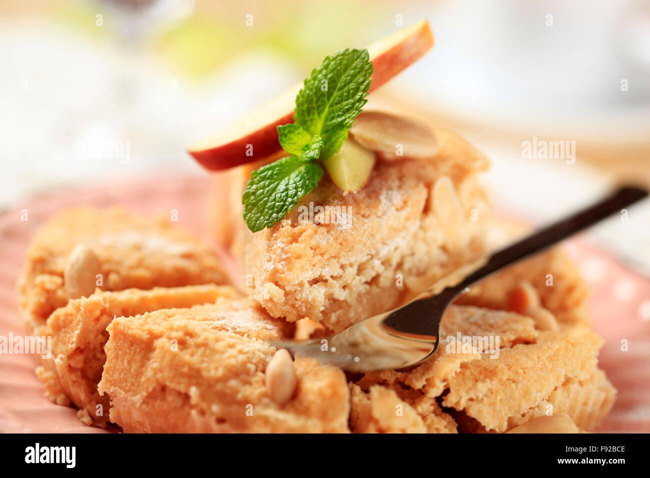 Boulangerie Pâtisserie tarte dessert amande Photo Stock