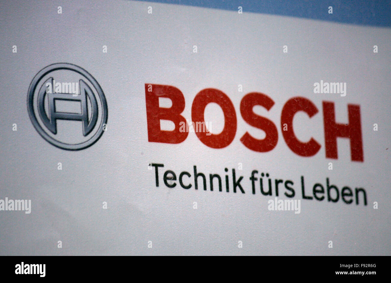 Markenname : 'BOSCH', Berlin. Photo Stock