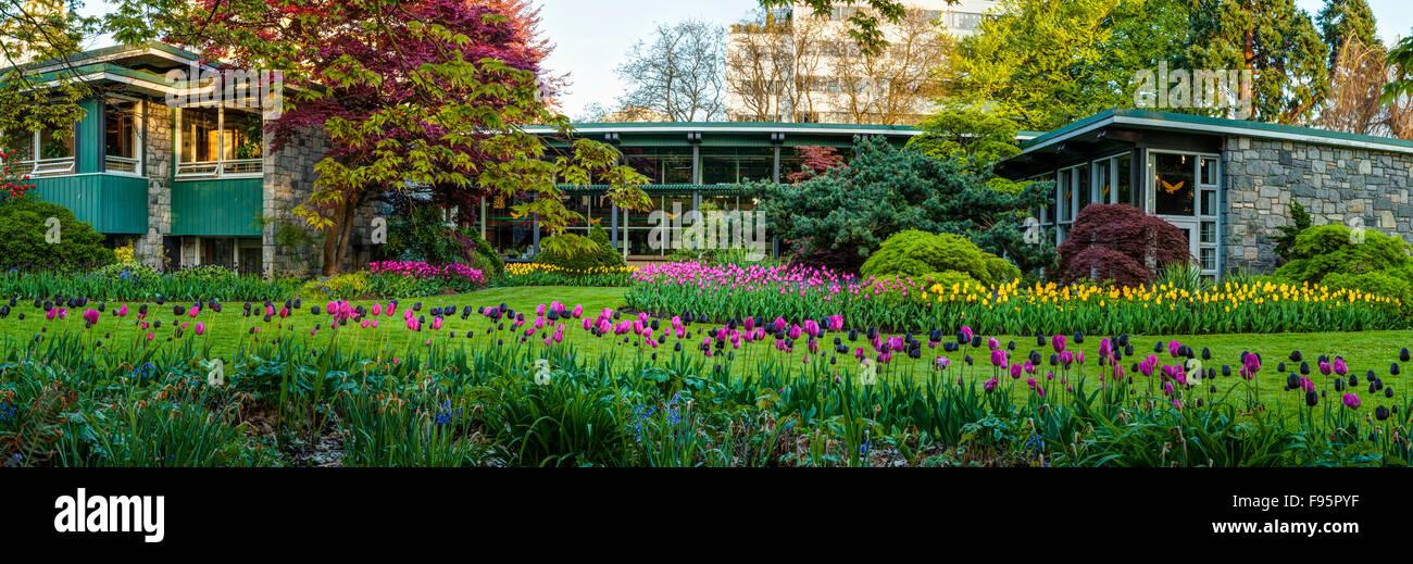 Le parc Stanley Bureau du Conseil. Photo Stock