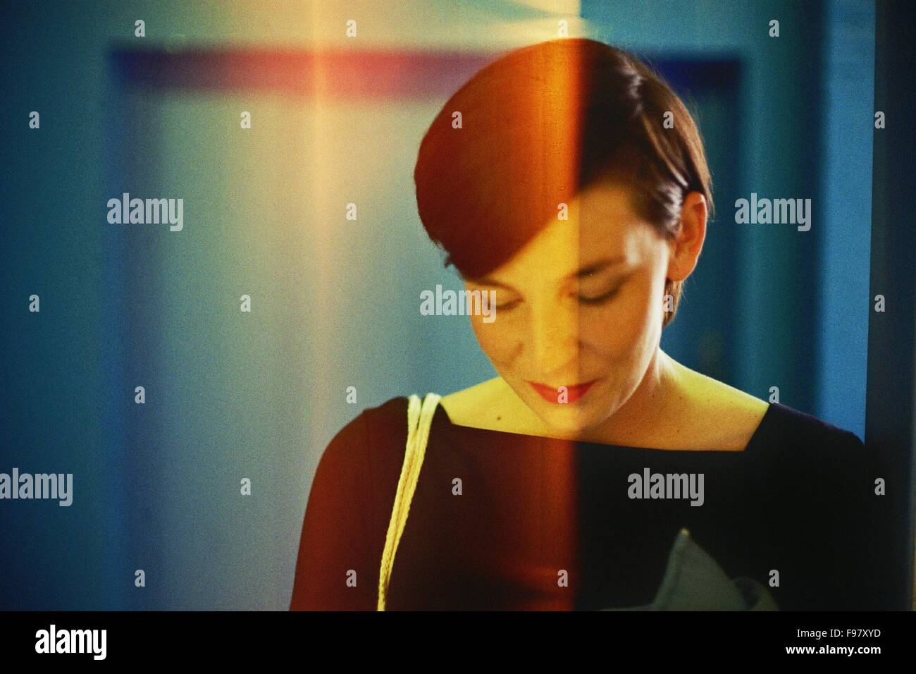 Portrait Of Mid adult Woman Photo Stock