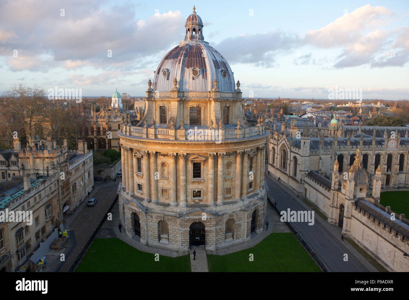 Appareil photo Radcliffe à Oxford, une partie de l'université Photo Stock