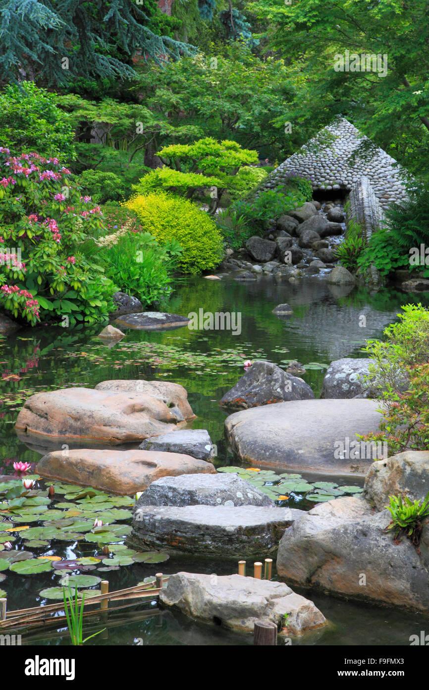 France Paris Musee Albert Kahn Un Jardin Japonais Banque D Images