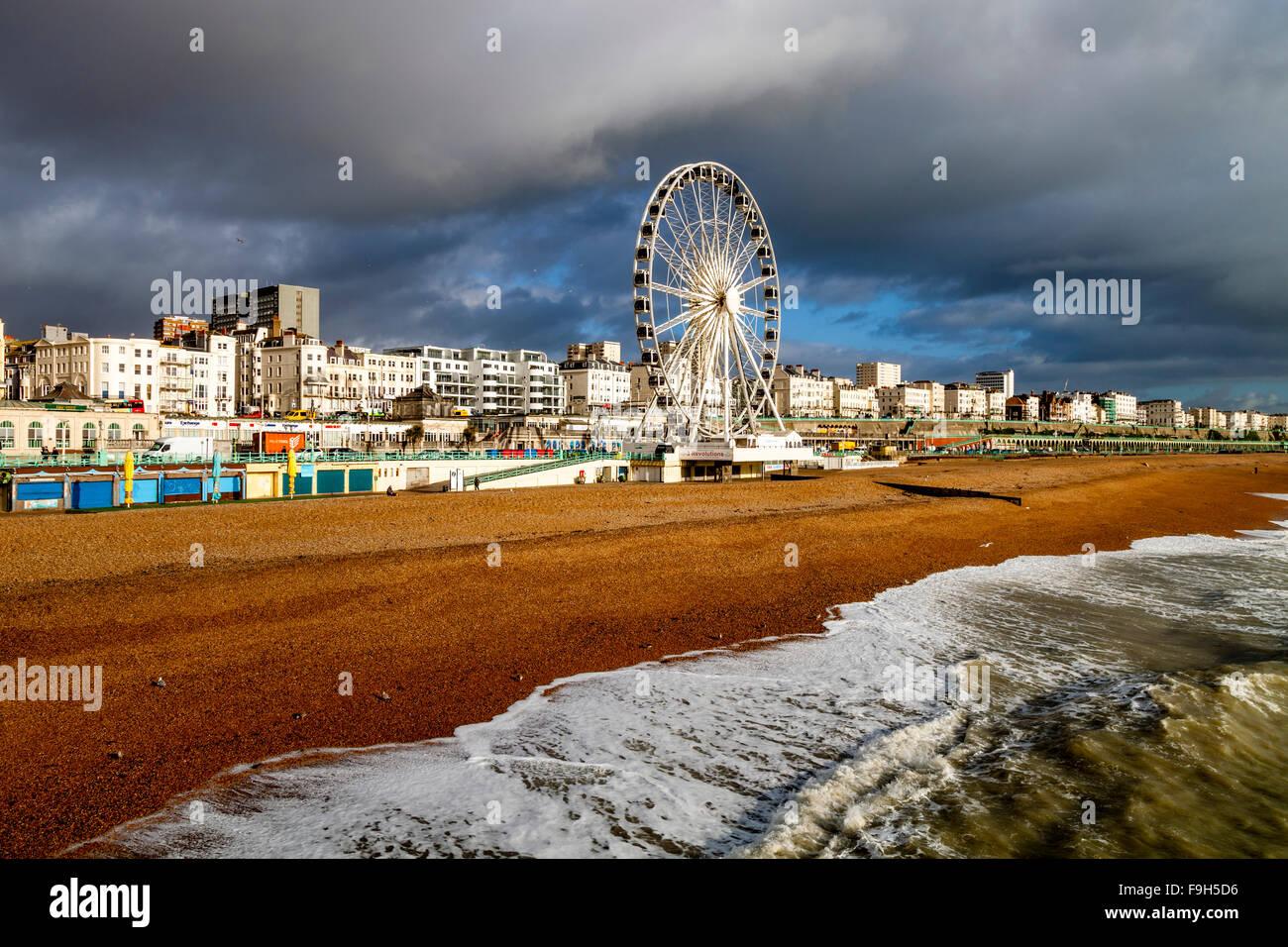 Le front de mer, Brighton, Sussex, UK Photo Stock