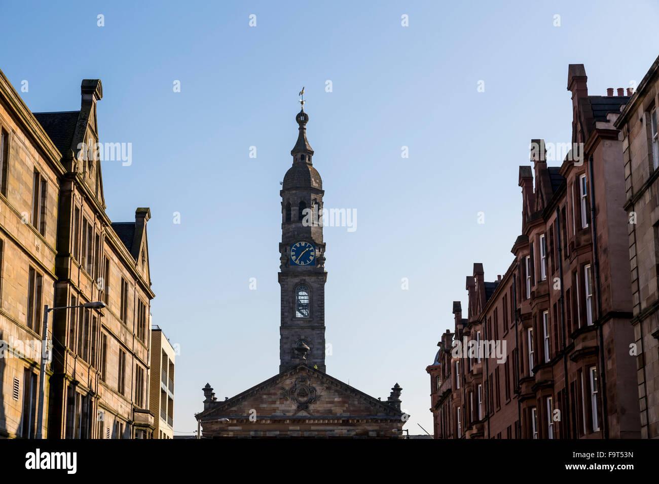 Clocher de St Andrews dans le Square church, Glasgow, Écosse, Royaume-Uni Banque D'Images