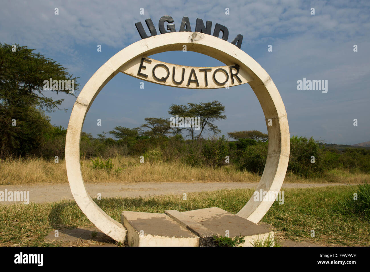 Équateur, Ouganda Photo Stock