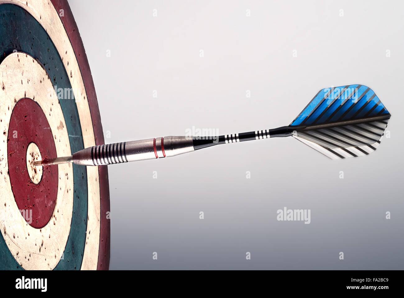 jeu de fléchettes Photo Stock