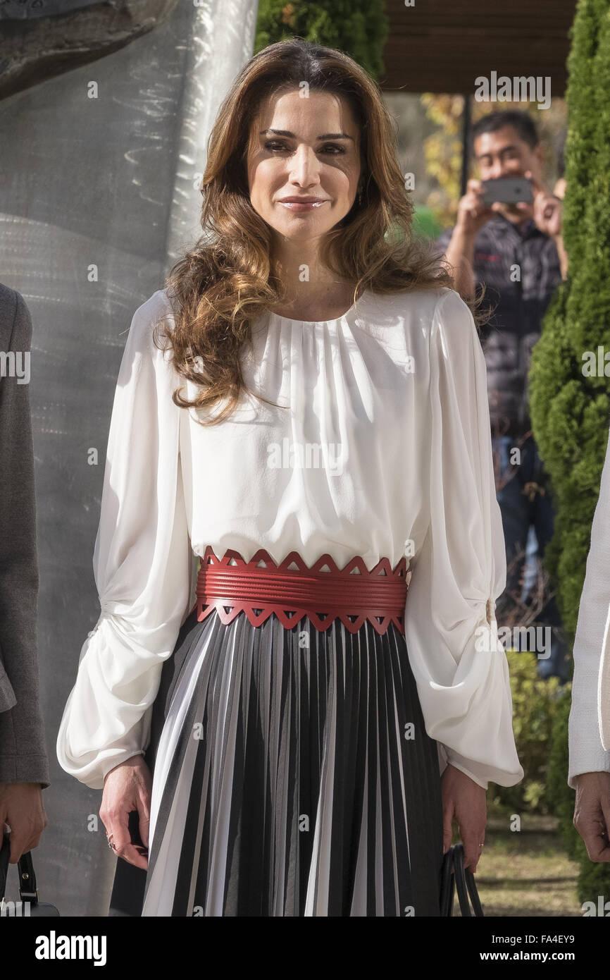 Queen Rania Of Jordan Banque D Image Et Photos Alamy