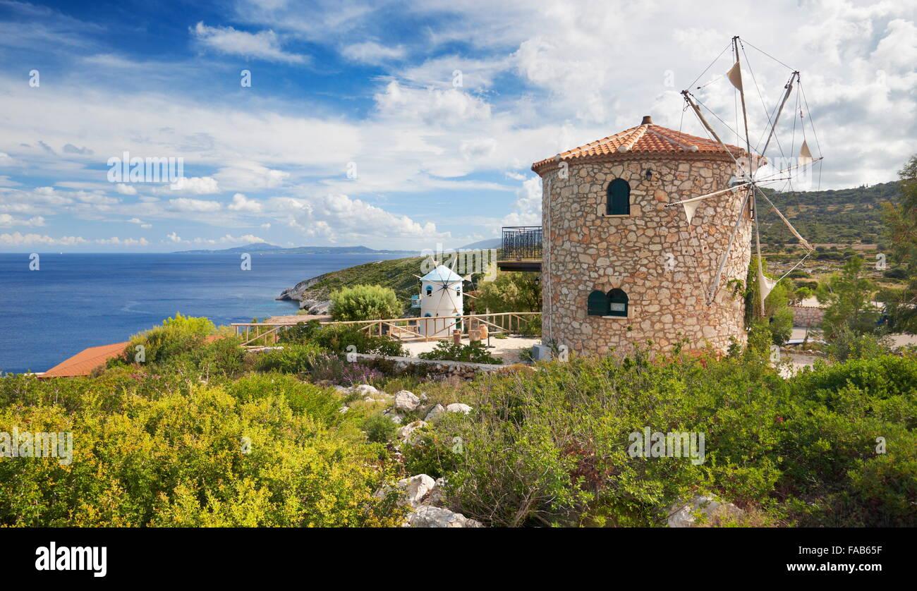 L'île de Zakynthos, Grèce Photo Stock