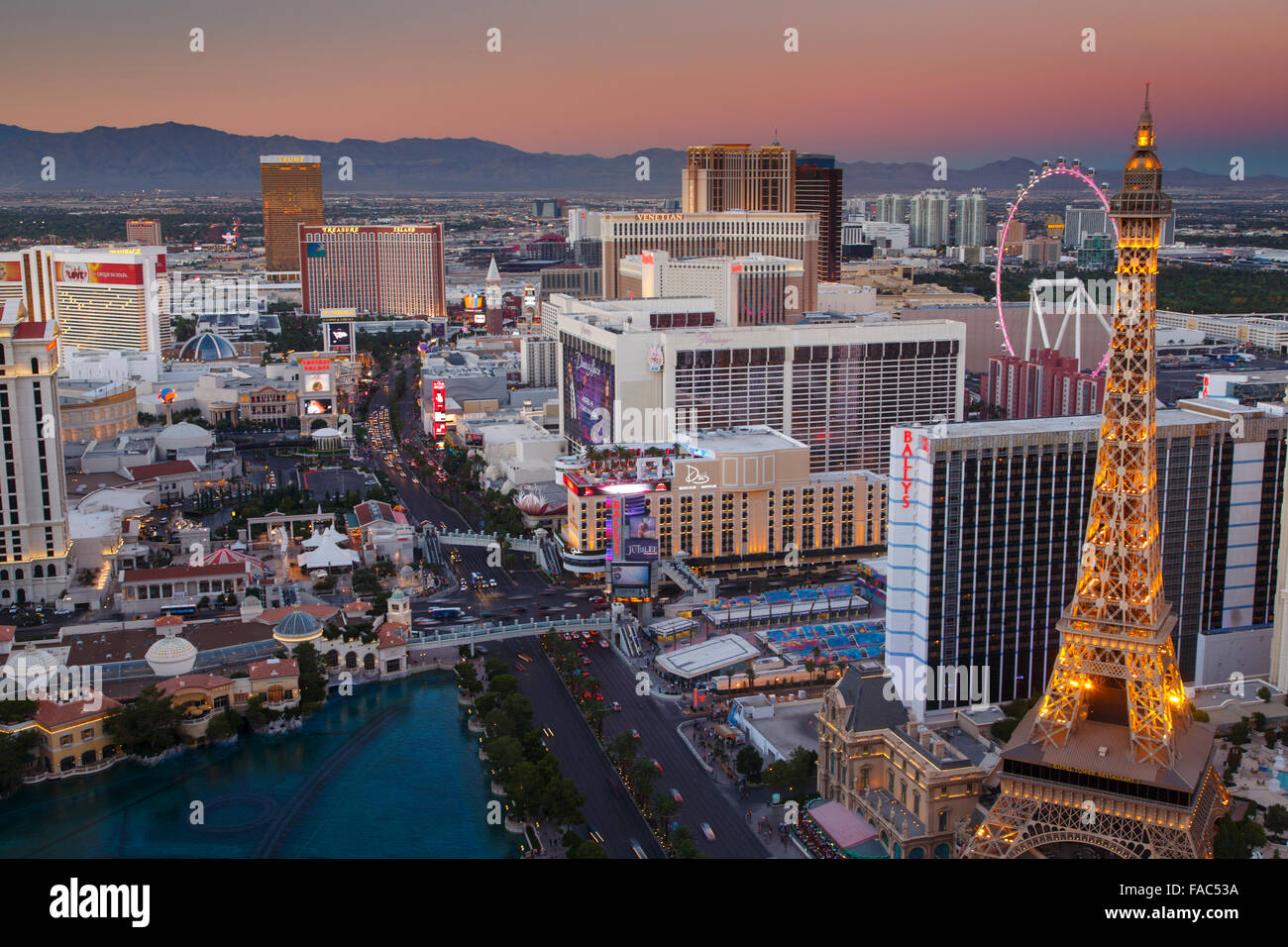 Las Vegas, Nevada. Photo Stock