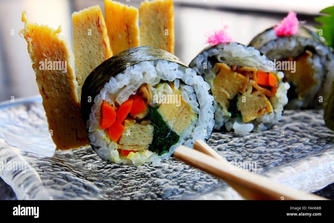 Sashmi ou Sushi Photo Stock