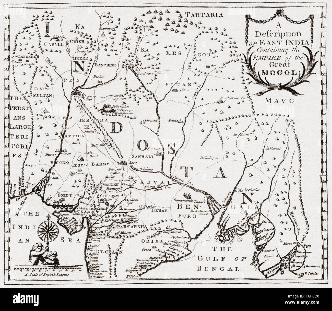 Carte De Linde De Lest.Carte Montrant Les Territoires Dans L Est De L Inde De Nur
