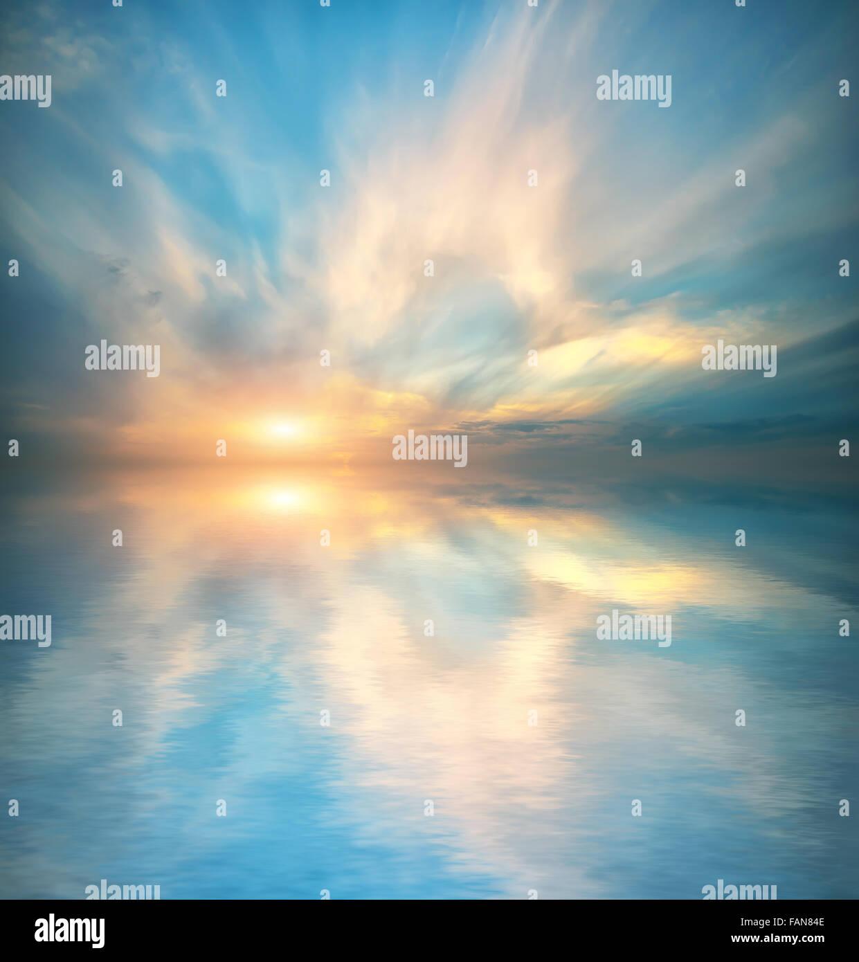 Fond de Ciel. Composition de la nature. Banque D'Images