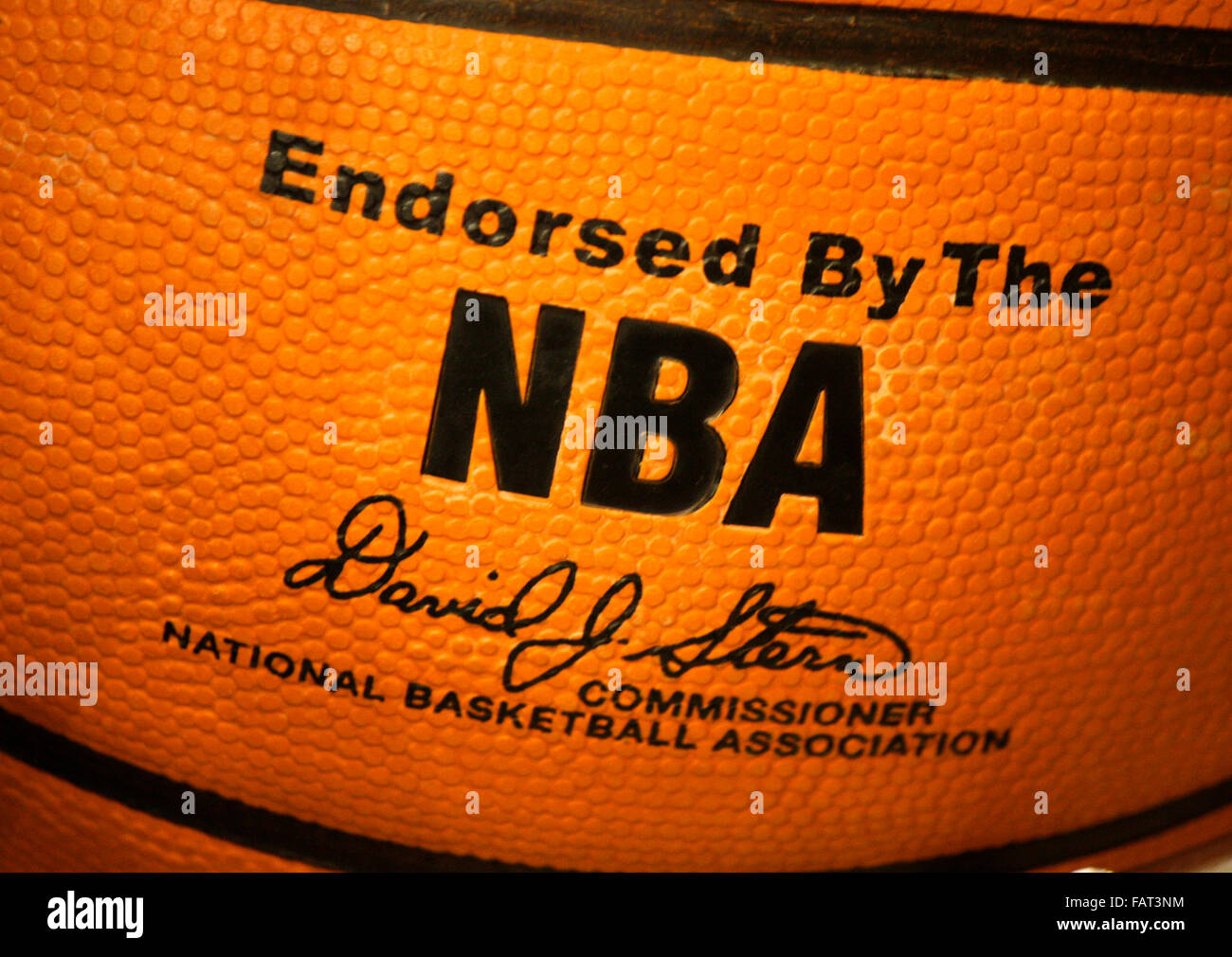 "Markenname: 'NBA National Basketball Association"", Berlin. Banque D'Images"