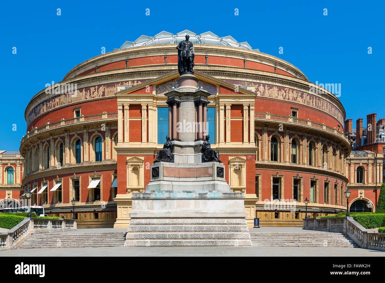 Londres, la salle de concert Banque D'Images
