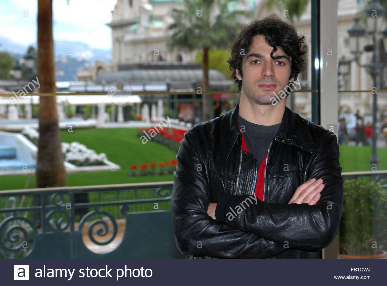 Luca argentero Banque D'Images