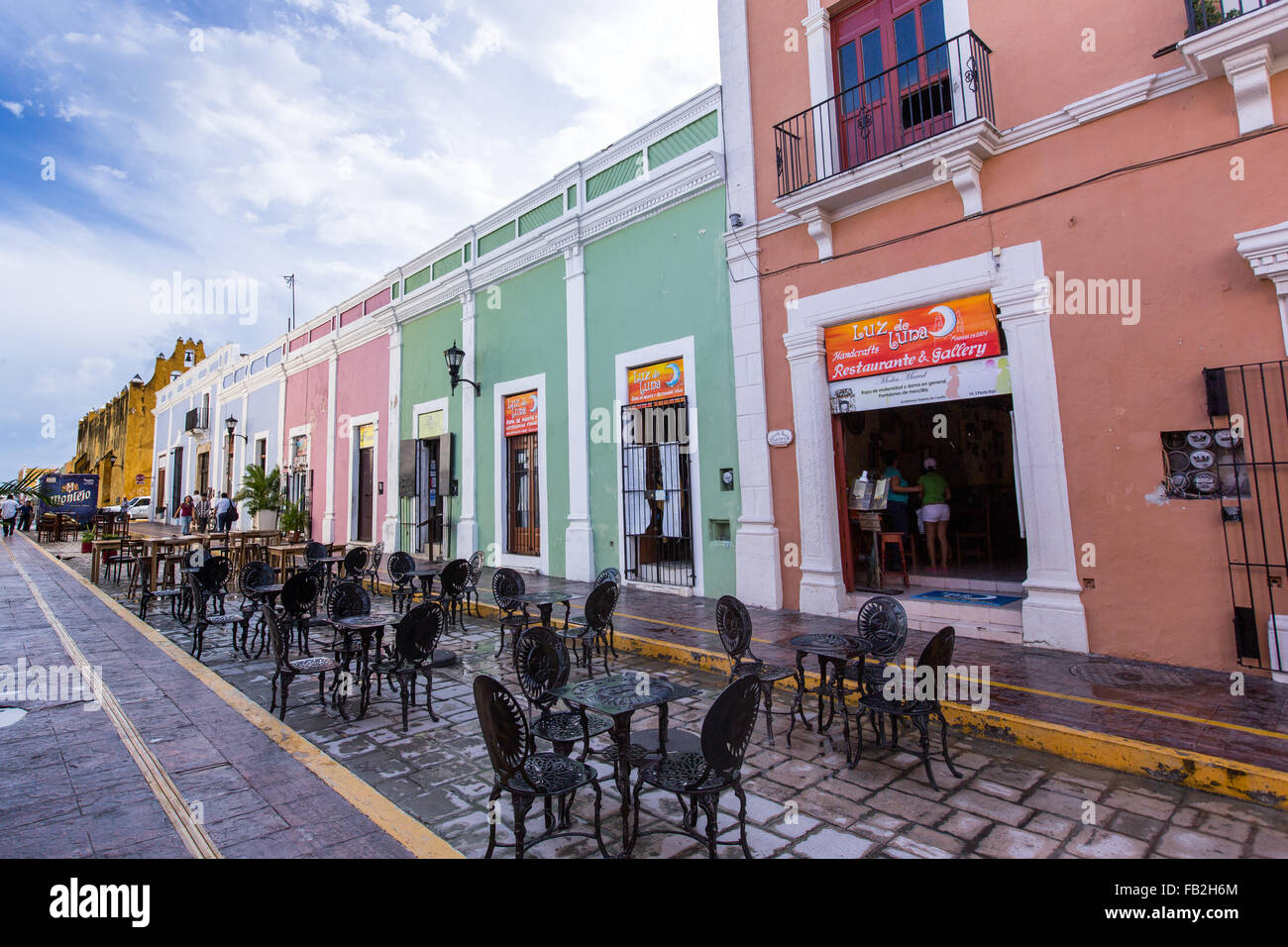 Ville de Campeche ou San Francisco de Campeche est la capitale de l ...