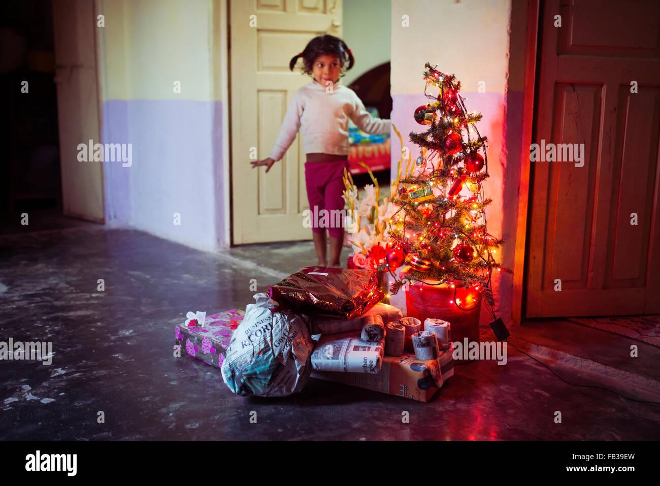 Au Pakistan Noël Banque D'Images