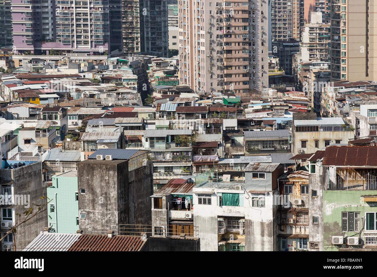 Architecture de Macao, Chine. Photo Stock