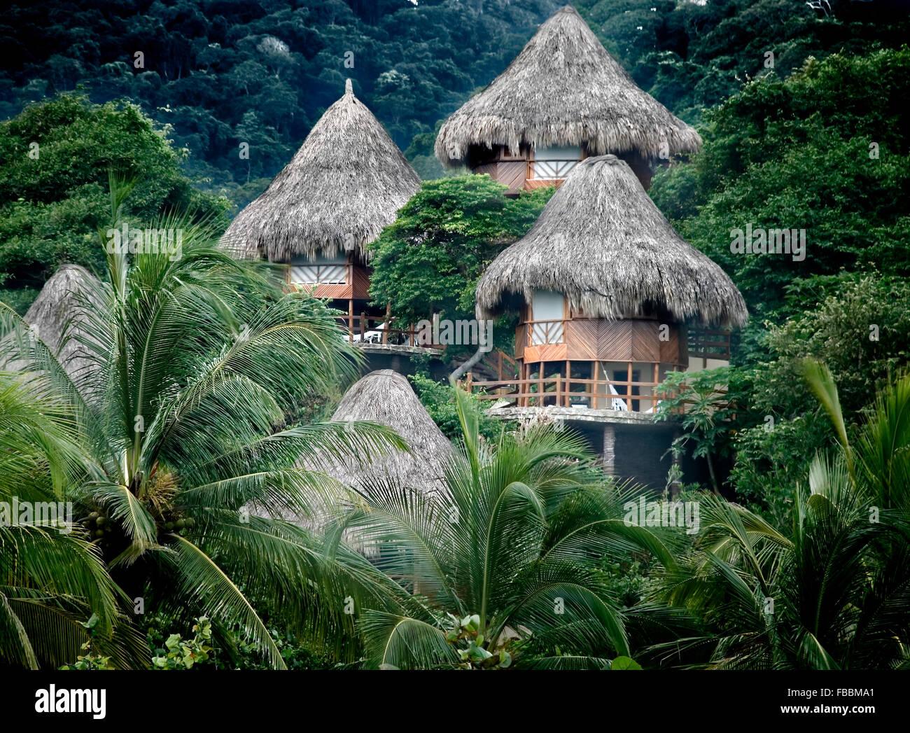 Le Parc National Tayrona, Colombie Photo Stock