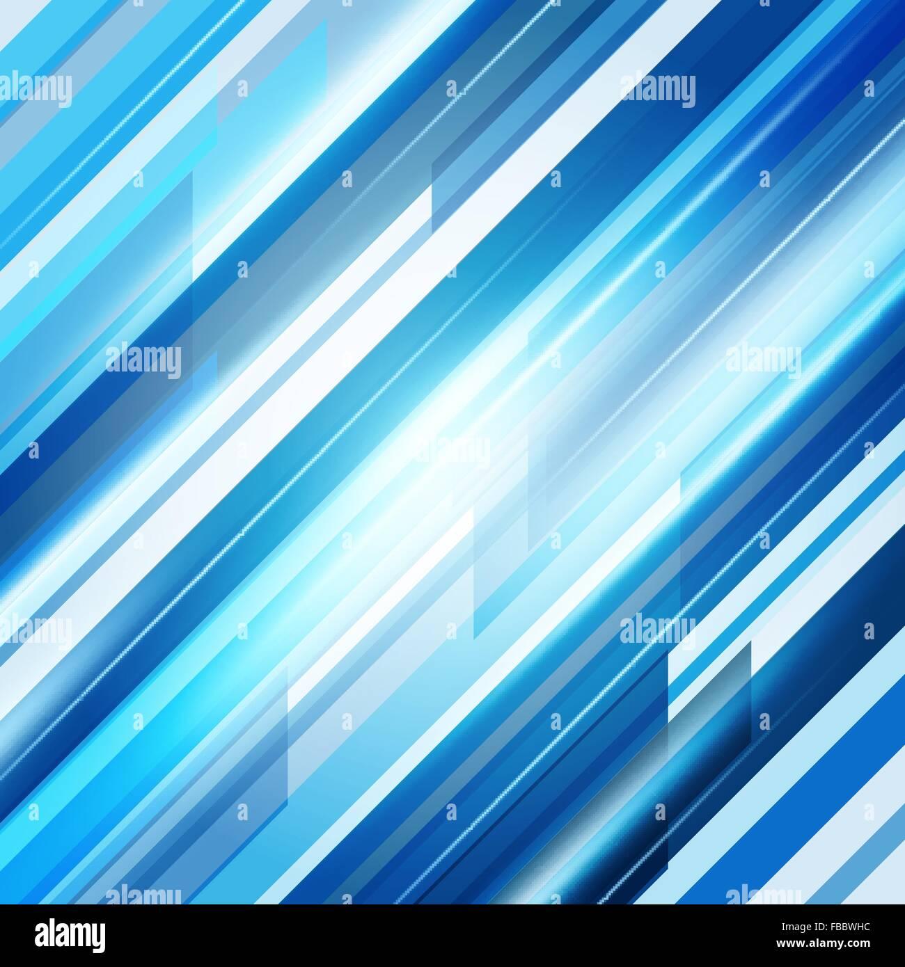 Bleu Résumé des lignes droites arrière-plan. Vector Illustration Illustration de Vecteur
