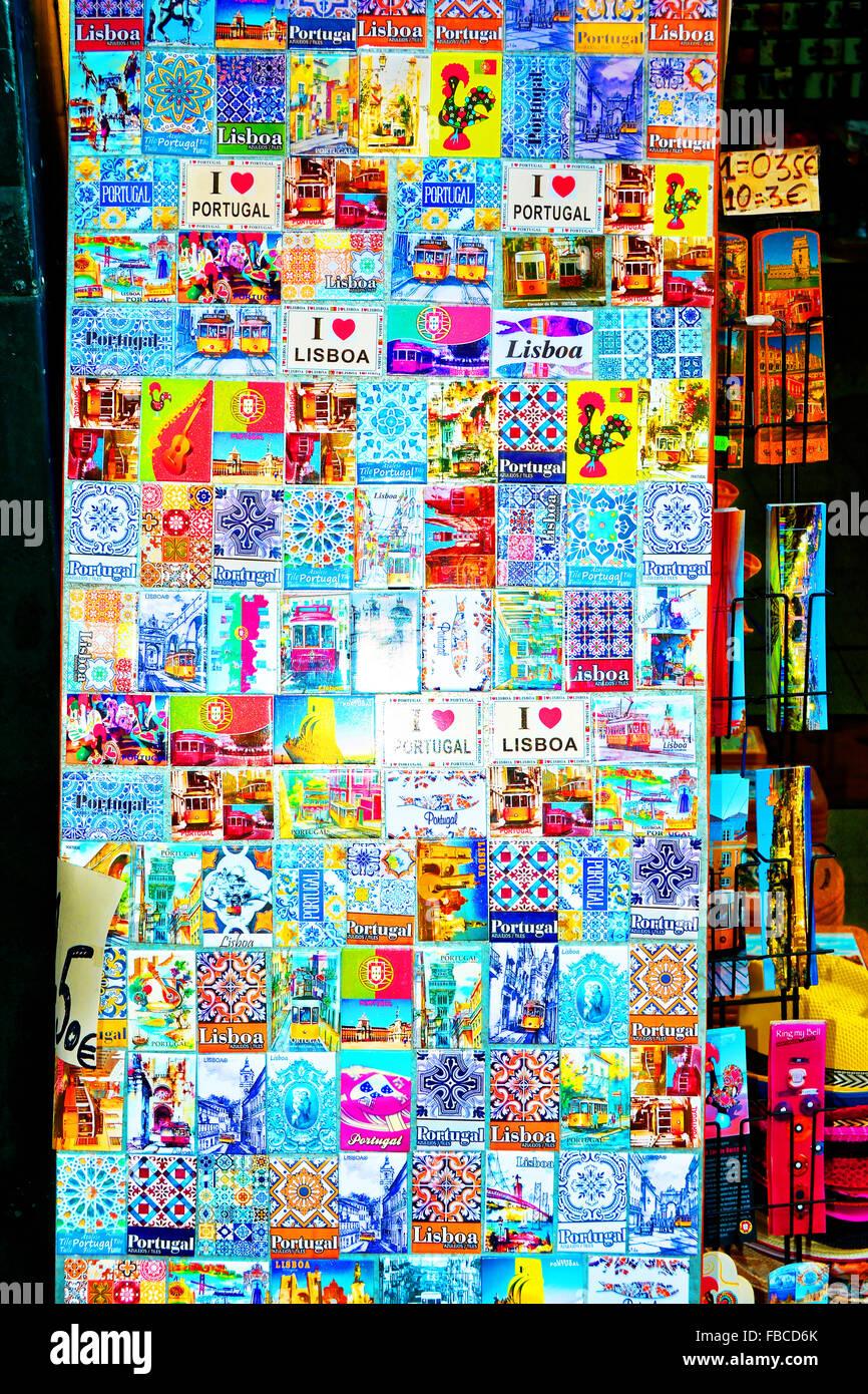 Portugal Carte Cadeau souvenir aimant pour r/éfrig/érateur
