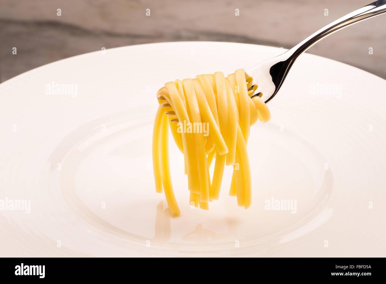 pâtes spaghetti Photo Stock