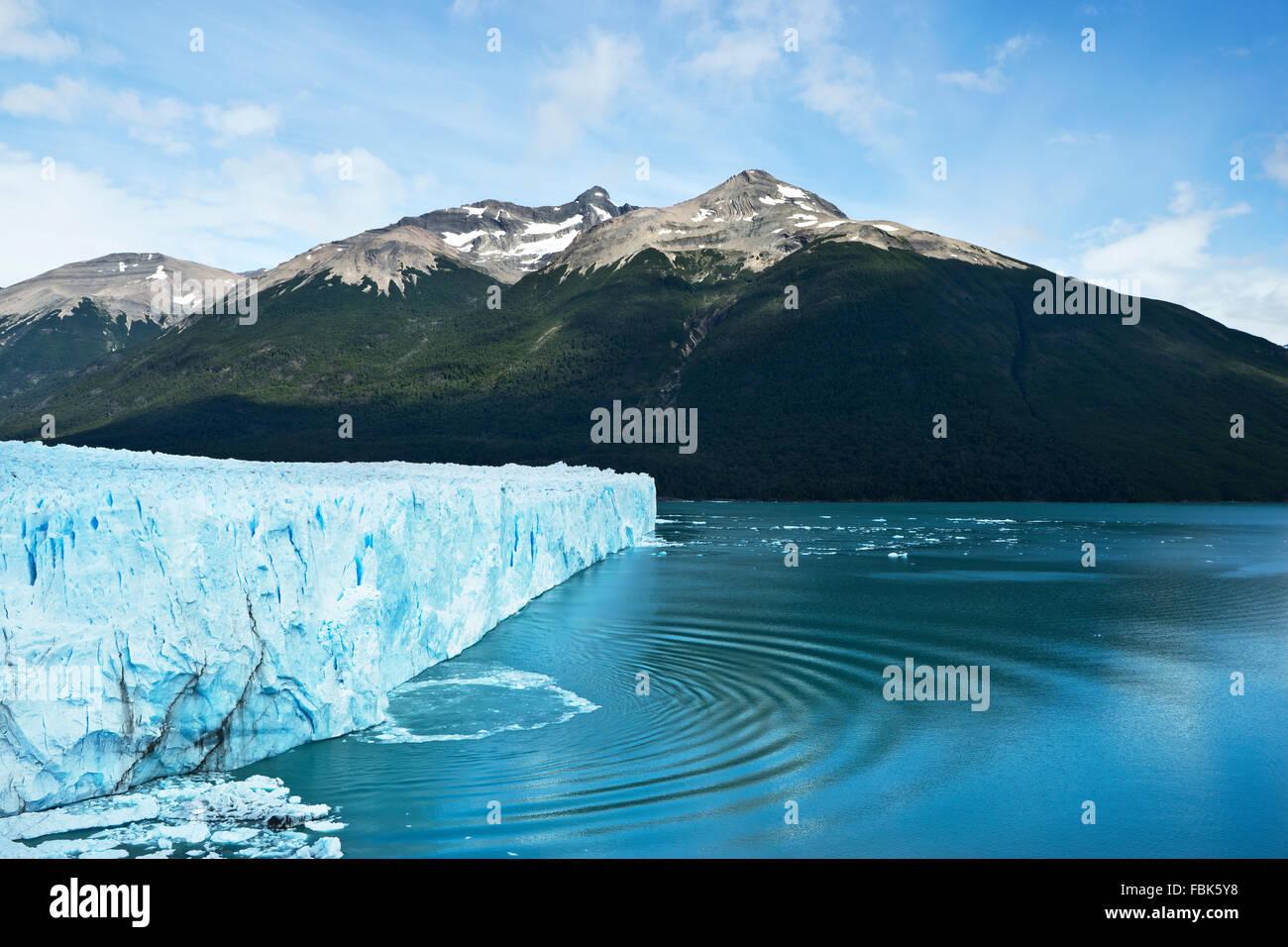 Glacier Perito Moreno en Patagonie argentine Photo Stock