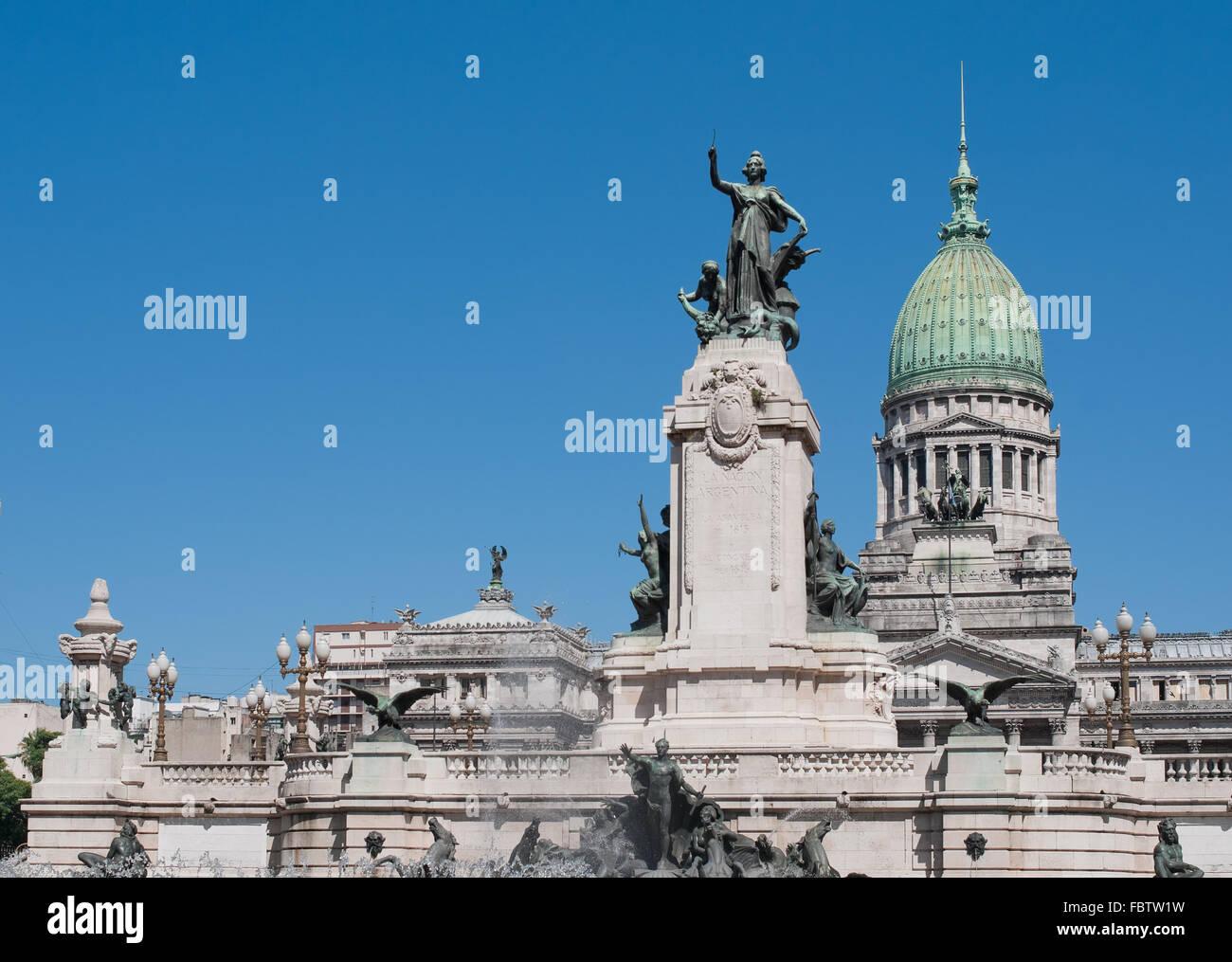 Congrès national des capacités, Buenos Aires, Argentine Photo Stock