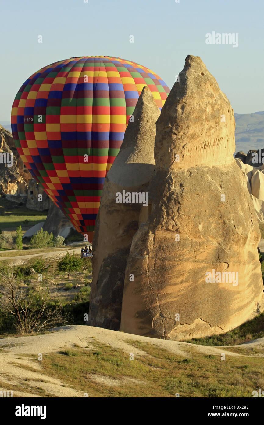 En ballon cappadoce 063 Photo Stock