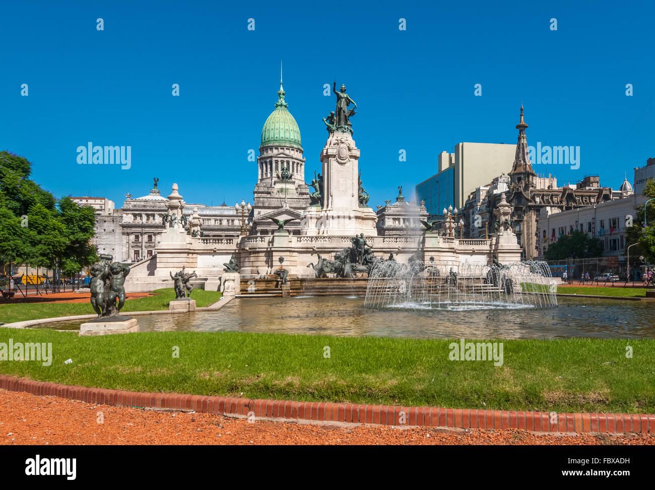 Congrès national des capacités, Buenos Aires, Argentine Banque D'Images