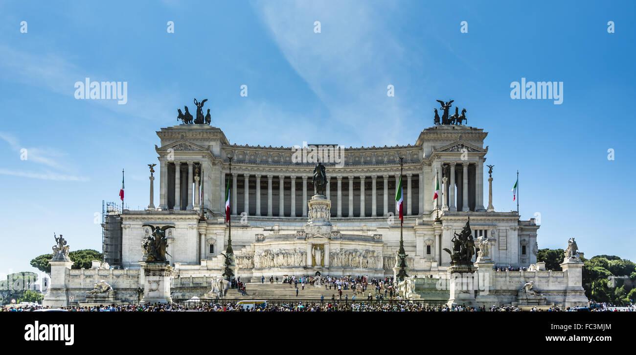 Vittoriano à Rome Photo Stock
