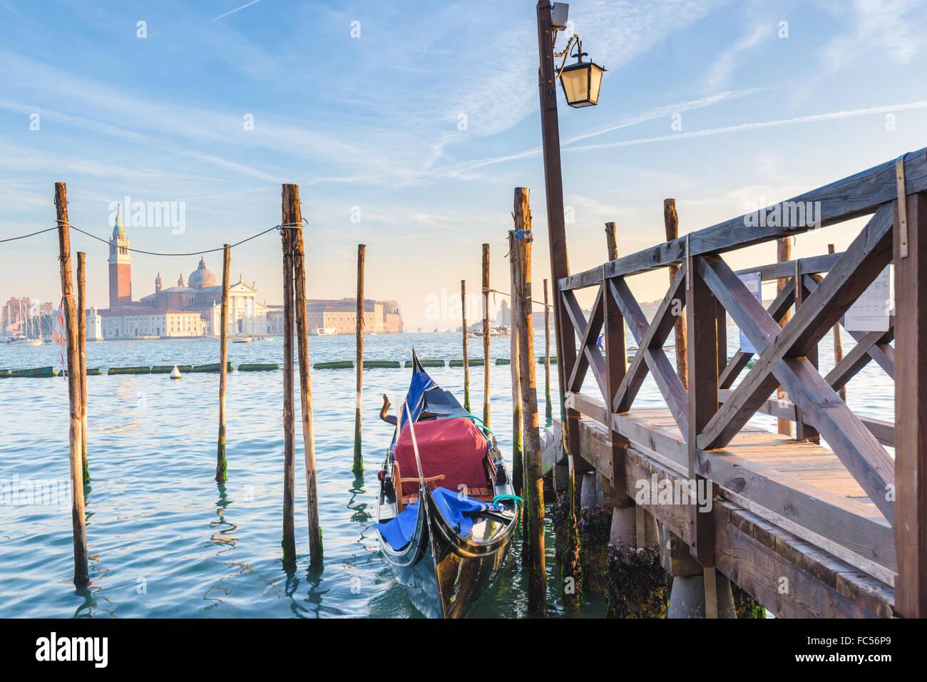 La vie de la rue de Venise. Venise, Italie Photo Stock