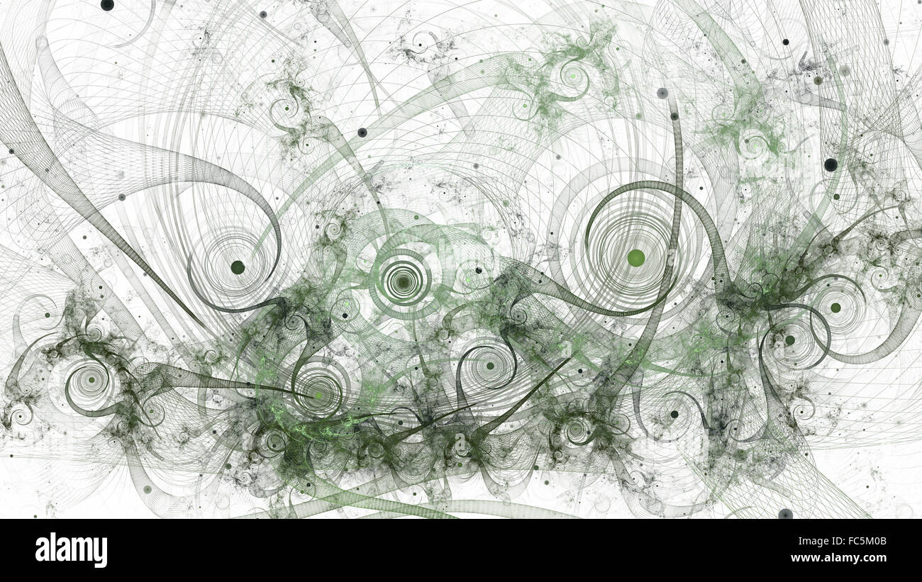 Chaos fractal Photo Stock
