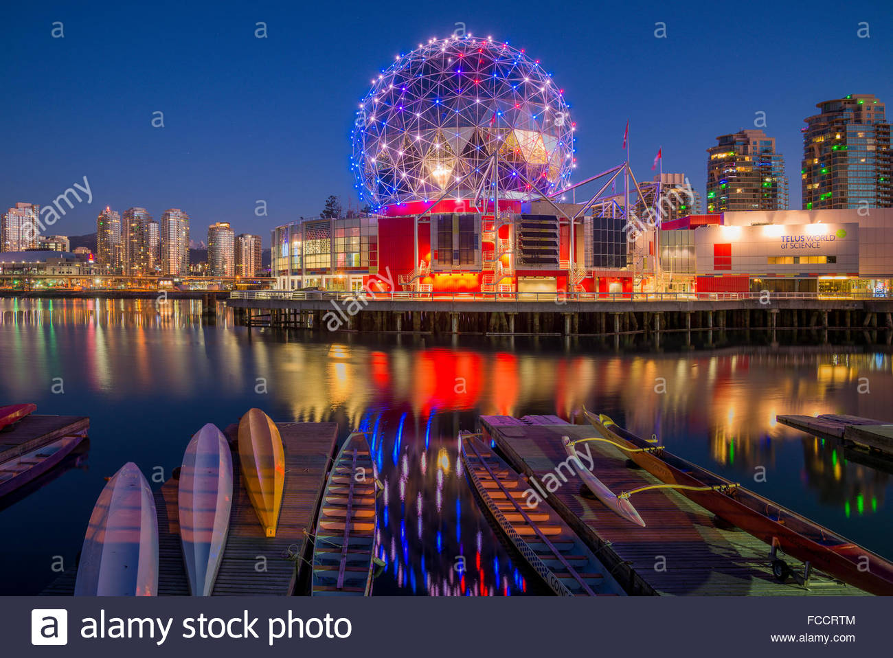 Science World, Vancouver, BC, Canada Photo Stock